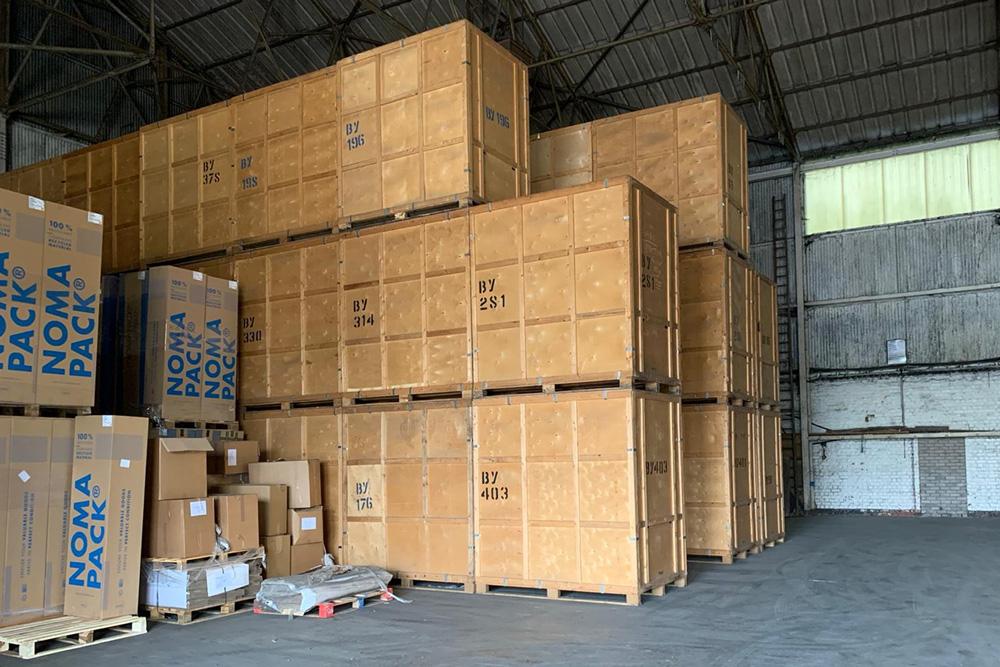 Container Storage Knutsford